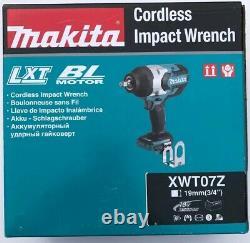 Makita Xwt07z 18-volt 3/4 Pouces Lxt Lit-ion Outil D'impact Sans Fil Uniquement