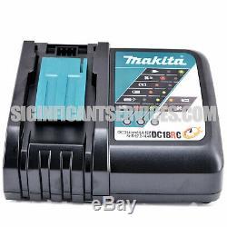 Makita Xwt08z Xdt14z 18v Lxt Brushless 5,0 Ah 1/2 1/4 Clé À Chocs Driver Kit