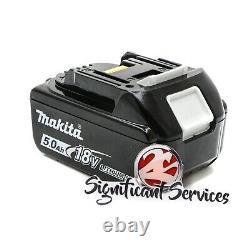 Makita Xwt15z 18v Sans Fil Sans Fil 4 Vitesse 1/2 Clé D'impact 5.0 Ah Batterie