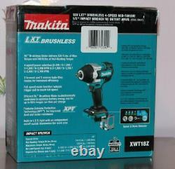 Makita Xwt18z 18v Lxt Li-ion Sans Fil Sans Fil 4-speed 1/2 Clé D'impact Nouveau