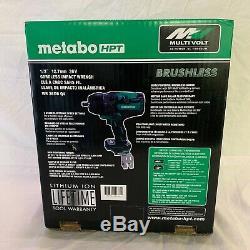 Metabo Hpt Wr36dbq4 Clé À Chocs Multivolt Sans Brosse De 36 V, Ip56 (nib)