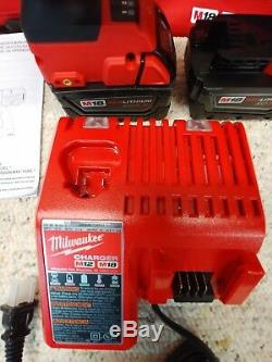 Milwaukee2767-22m18 Fuel Hightorque 1/2 Incidence Clé 1400 Ft / Lbswith5.0ahnew