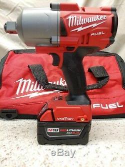 Milwaukee2864-2218v Fuel 3/4 Anneau De Friction Couple Élevé Clé À Chocs Kitnew