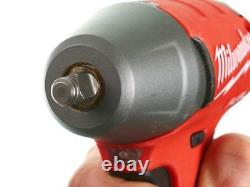 Milwaukee 18v One-key Fuel 3/8 Clé D'impact Avec L'unité De Barre D'anneau De Friction