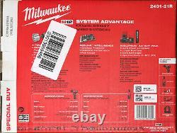 Milwaukee 2401-21r M12 12v Sans Fil 3/8 Po. Kit À Cliquet Et Tournevis Sans Fil