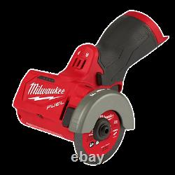 Milwaukee 2522-20 M12 Fuel 3 Brushless Compact Cut Off Tool, Outil Seulement