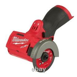Milwaukee 2522-20 M12 Fuel 3 Cut Off Tool Grinder Outil Nu Seulement