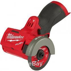 Milwaukee 2522-20 New M12 3 Meuleuse D'outils Coupés (outil Nu Seulement)