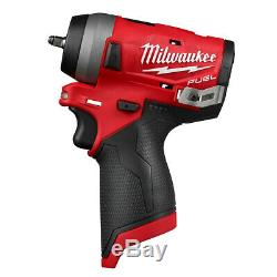 Milwaukee 2552-20 M12 Fuel Stubby 1/4 Po. Clé À Chocs (sans Outil Uniquement)