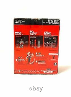 Milwaukee 2555-20 M12 Fuel Li-ion 1/2 Clé D'impact Sans Fil Stubby Nouveau