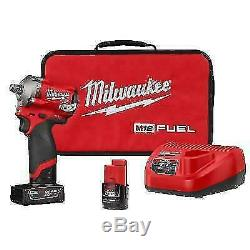 Milwaukee 2555-22 M12 Fuel Impact Kit Clé