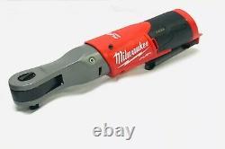 Milwaukee 2557-20 M12 Fuel 3/8 Outil De Barre À Cliquet Sans Fil Sans Brosse