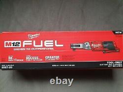 Milwaukee 2557-20 M12 Fuel 3/8 Ratchet (outil Uniquement) Nib