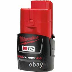 Milwaukee 2558-20 M12 Fuel 1/2 D'entraînement À Cliquet Avec Protection De Démarrage Et De La Batterie