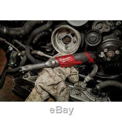 Milwaukee 2559-20 M12 Fuel 1/4 Long Déport À Cliquet Nu Outil Brushless Nouveau