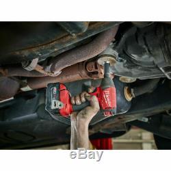 Milwaukee 2754-20 M18 Fuel 3/8 210 Ft / Lbs 5,0 Ah Couple Élevé Clé À Chocs