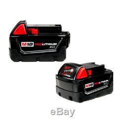 Milwaukee 2755b-22 M18 Fuel 18 Volt 1/2-pouces Clé À Chocs Compacte Avec Piles