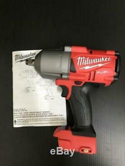 Milwaukee 2766-20 M18 Fuel 1/2 Gen II Clé À Chocs Avec La Broche Detent 1100lbs