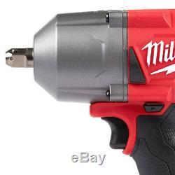 Milwaukee 2766-22 18 Volt 1/2-pouces M18 Couple Élevé Detent Pin Impact Kit Clé