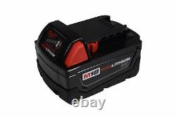 Milwaukee 2767-20 1/2 High Torque Impact Wrench With 48-11-1828 18v 3ah Battery