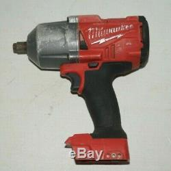 Milwaukee 2767-20 M18 Carburant 1/2 Impact De Couple Avec Friction Anneau Used U930