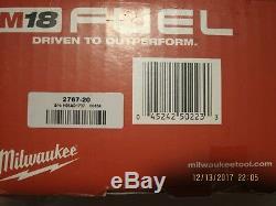 Milwaukee 2767-20 M18 Fuel ½ Clé À Chocs Withfriction Anneau 1400 Lbs De Couple Nisb