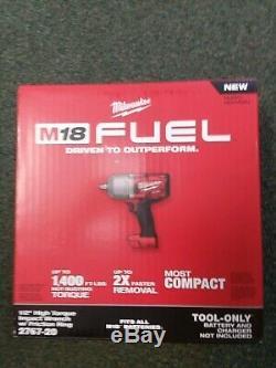 Milwaukee 2767-20 M18 Fuel Couple Élevé 1/2 Clé À Chocs Avec Friction Bague Nouveau