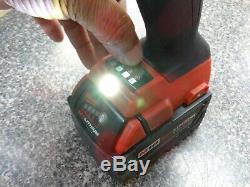 Milwaukee 2767-20 M18 Fuel High Torque 1/2 Clé À Chocs XC 5.0ah Rouge Au Lithium