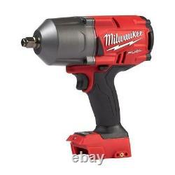Milwaukee 2767-20 M18 Fuel High Torque 1⁄2 Clé D'impact Avec Outil À Anneaux De Friction
