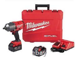 Milwaukee 2767-22 M18 Fuel Haute Torque 1⁄2 Anneau De Friction De Clé D'impact