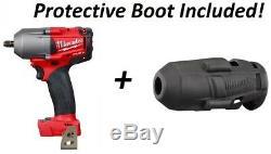 Milwaukee 2852-20 M18 Fuel MID Couple 3/8 Clé À Chocs D'entraînement Pistolet Avec Boot