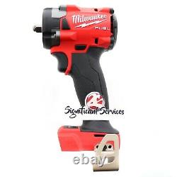Milwaukee 2854-20 M18 18v 3/8 Li-ion Drive Carburant Stubby Impact Wrench Bare Outil