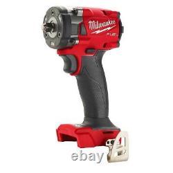 Milwaukee 2854-20 M18 18v Carburant 3/8 Clé D'impact Compacte Avec Anneau De Friction