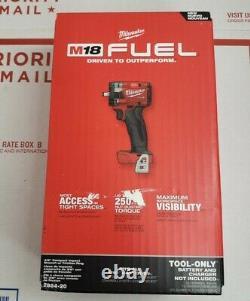 Milwaukee 2854-20 M18 3/8 Drive Stubby Impact Wrench Bare Tool (openbox)