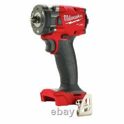 Milwaukee 2854-20 M18 Fuel 3/8 Clé D'impact Compacte Avec Anneau De Friction