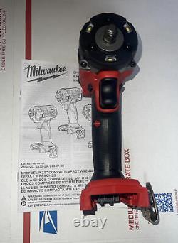 Milwaukee 2854-20 M18 Fuel 3/8 Clé D'impact Compacte Avec Outil À Anneaux De Friction Onky