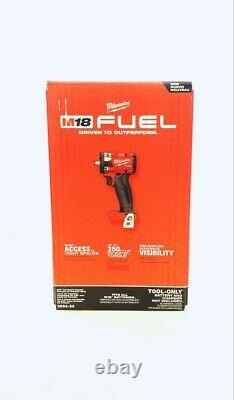 Milwaukee 2854-20 M18 Fuel Li-ion Bl 3/8 In. Impact Wrench (outil Seulement) Nouveau