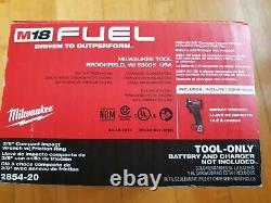 Milwaukee 2854-20 M18 Fuel Li-ion Bl 3/8 Po. Clé D'impact (outil Seulement) Nouveau