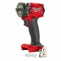 Milwaukee 2855-20 M18 Fuel 1/2 Clé Compacte D'impact Avec Anneau De Frottement