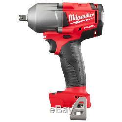 Milwaukee 2860-20 18 Volt 1/2-pouces M18 Fuel Pin Detent Clé À Chocs Bare Outil