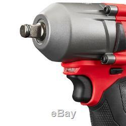 Milwaukee 2861-20 18 Volt 1/2-inch M18 Friction Bague Clé À Chocs Nu Outil