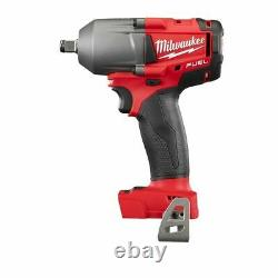 Milwaukee 2861-20 M18 1/2 Fuel MID Torque Impact Wrench With Ring New In Box