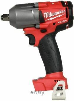 Milwaukee 2861-20 M18 1/2 Impact À Mi-clé Dynamométrique Withfriction Ring (nouveau)