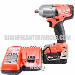Milwaukee 2861-20 M18 Fuel Mi-couple 1/2 Bague De Friction Clé À Chocs Tool Kit