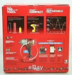 Milwaukee 2862-20 M18 Fuel One-key Couple Élevé Clé À Chocs 1/2 Pin Detent Bar