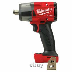 Milwaukee 2962-20 M18 Fuel 1/2 Clé D'impact Mi-torque Avec Outil À Anneaux De Friction