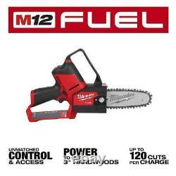 Milwaukee Cordless 6 Pruning Saw M12 Fuel Hatchet 12v Li-ion Brushless Toolonly