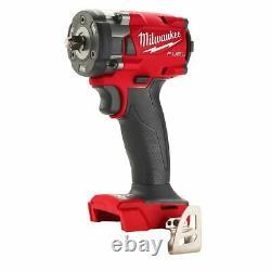 Milwaukee Fuel 2854-20 3/8 M18 Clé D'impact Sans Fil Sans Brosse 18 Volt 18v
