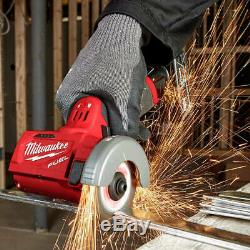 Milwaukee Fuel M12 2522-20 12 Volt 3 Pouces Brushless Compact Cut Off Tool, Nu