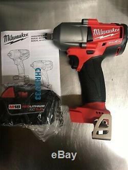 Milwaukee Fuel M18 2861-20 Clé À Choc Sans Balai 1/2 Midtorque 18 V 5,0